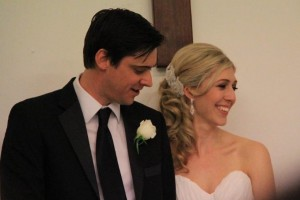 Amanda's wedding to Michael in Margret River
